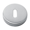 1 KEY PLATE ROUND STAINLESS STEEL