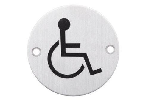 Picto Edelstahl für Behinderte