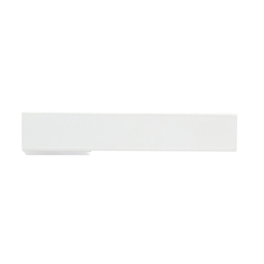 Witte deurklinken X -Treme zonder sleutelplaatjes