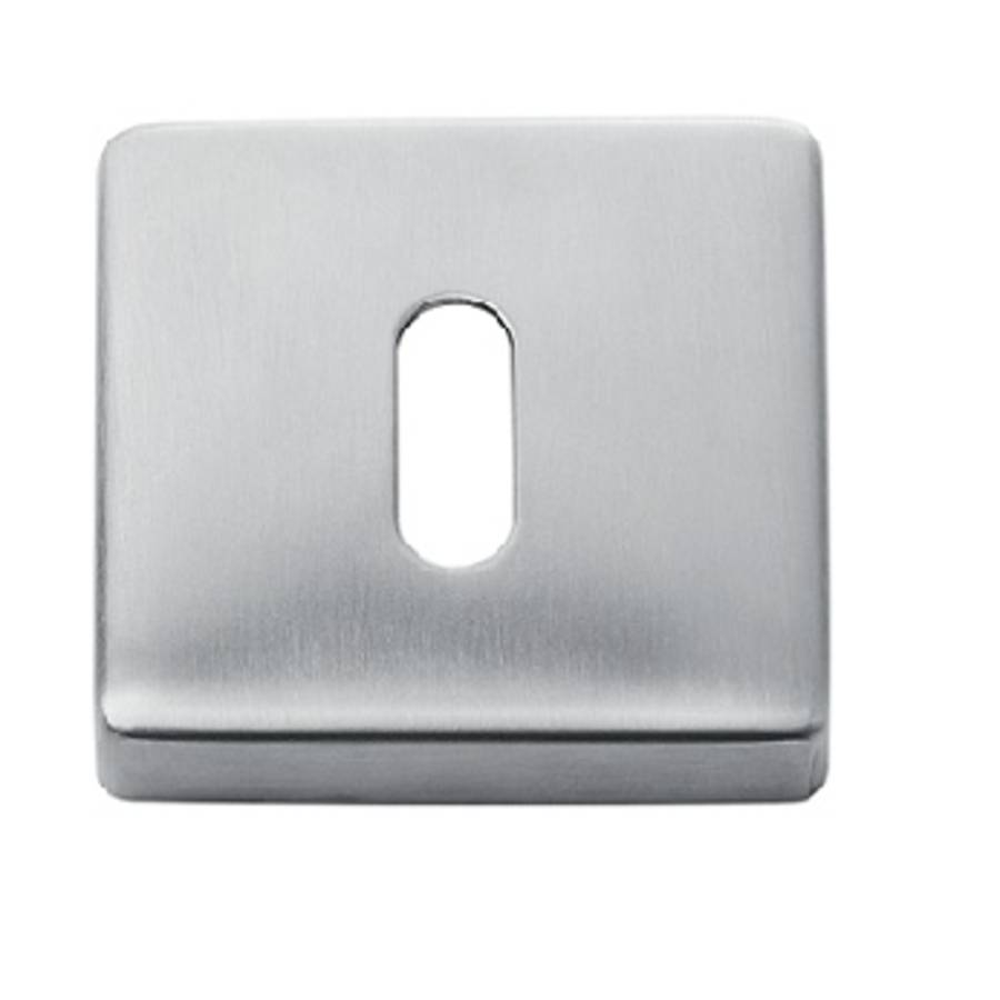 1 Square square stainless steel key plate