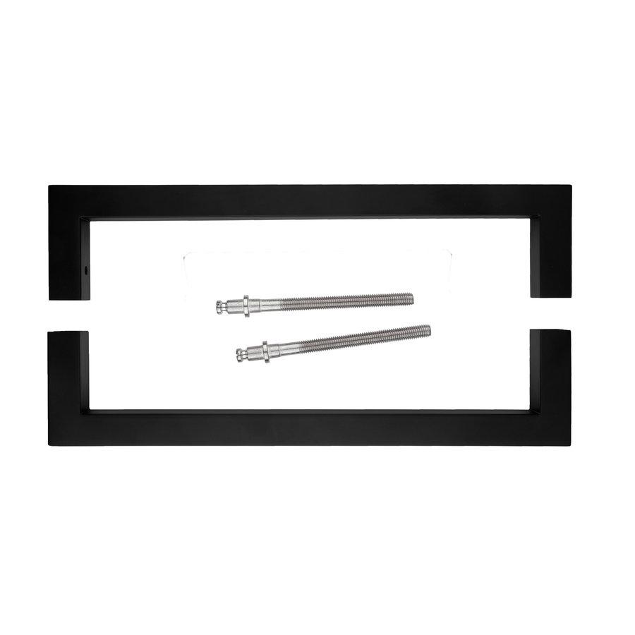 Paar Türgriffe Cubica 20/300 Paar für Türstärken> 3 cm schwarz