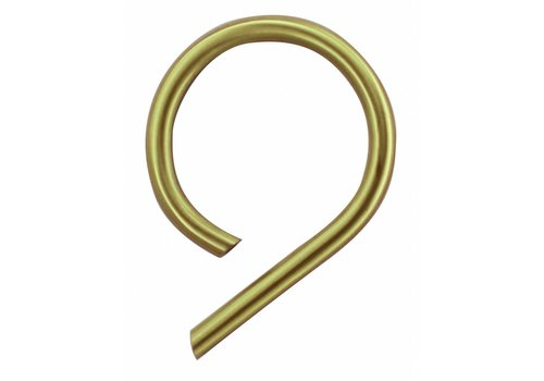 Numéro de maison cuivre mat 9