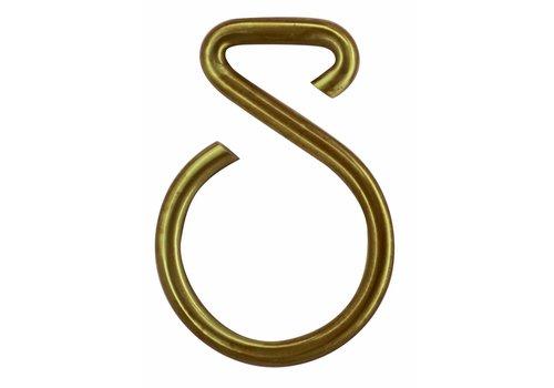 Numéro de maison cuivre mat 8