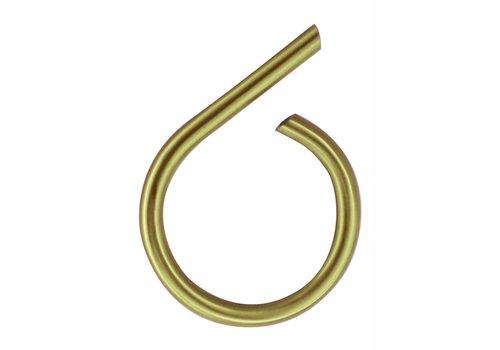 Numéro de maison cuivre mat 6