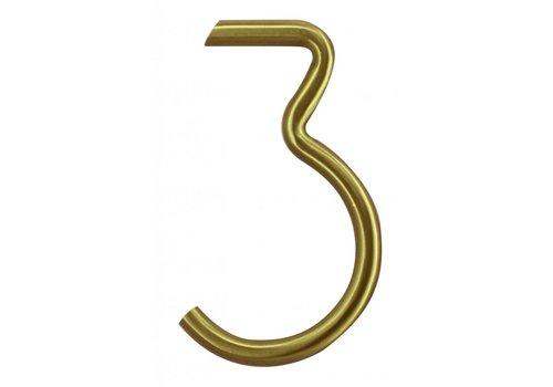 Numéro de maison cuivre mat 3
