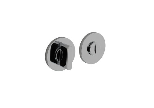 Olivari rosette toilet / bathroom closure around chrome