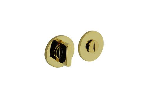 Olivari rosette toilet / bathroom closure around brass titanium PVD