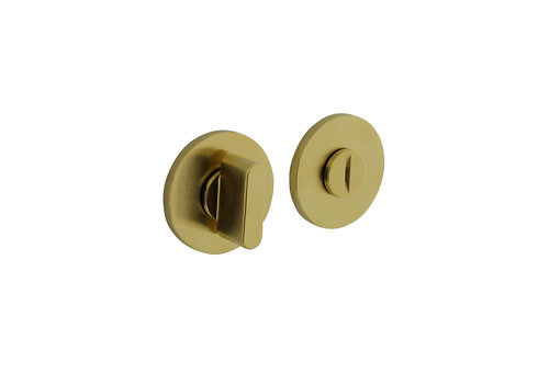 Fermeture rosette Olivari pour toilettes / salle de bains ronde laiton titane mat PVD