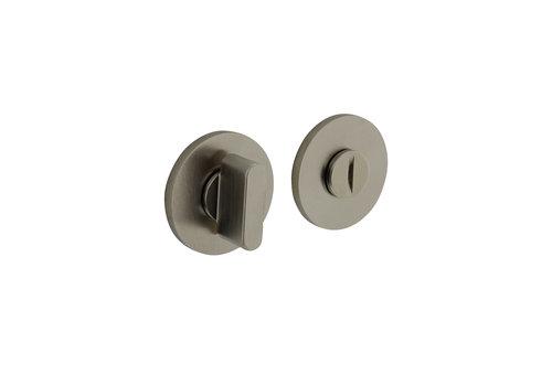 Olivari rosette toilet / bathroom closure around nickel matt titanium PVD