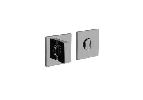 Olivari rosette toilettes / salle de bains fermeture carrée chrome