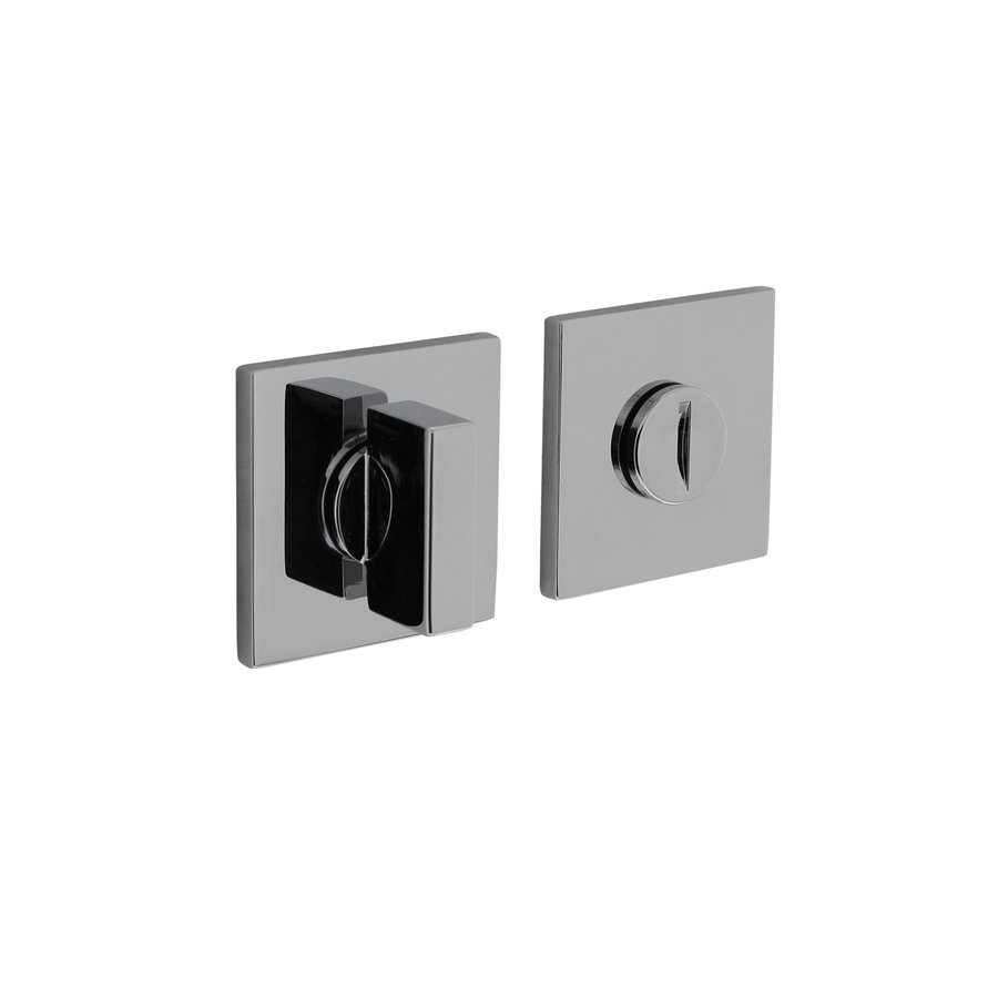 Olivari Rosette WC / Bad Verschluss quadratisch Chrom