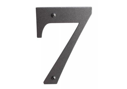 Huisnummer 7 ijzer