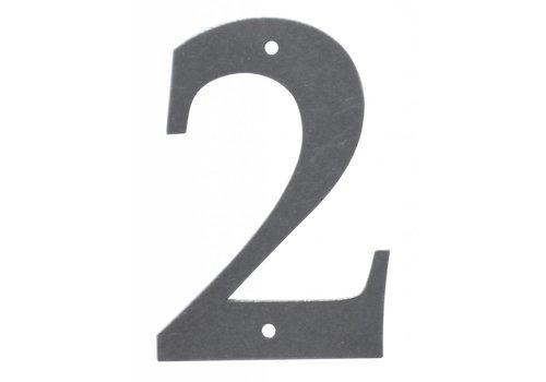 Huisnummer 2 ijzer