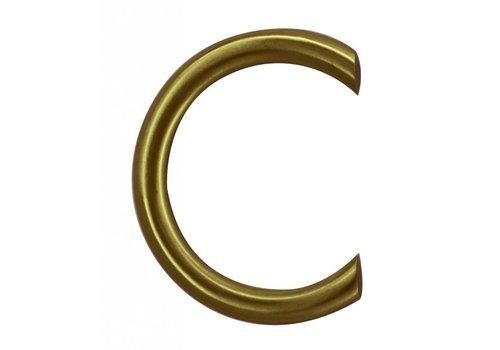 Lettre maison cuivre mat C.