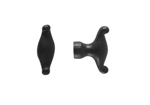 FURNITURE KNOB BT296 BLACK 40mm