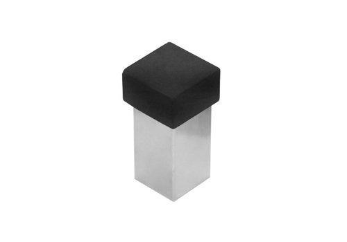 Butoir de porte en acier inoxydable carré universel