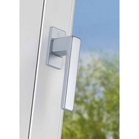 Hoppe window handle Austin Alu with tilt and turn function