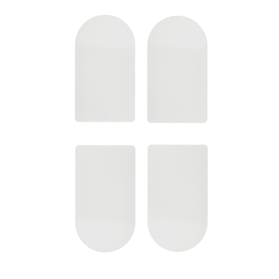 Afdekkapjes AGB eclips 3 wit