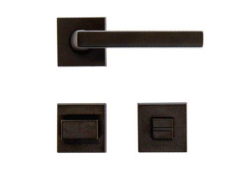 Zwarte deurklinken Luïs met WC