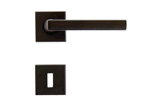 Zwarte deurklinken Luïs met BB