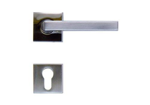 RVS deurklinken luïs met PZ