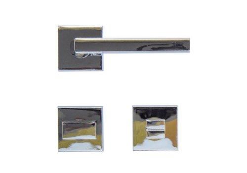 Chrome door handles Luïs with WC