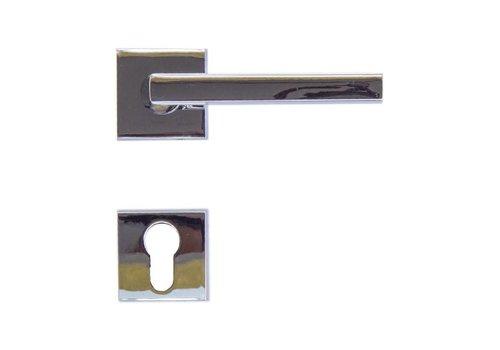 Chrome deurklinken Luïs met PZ