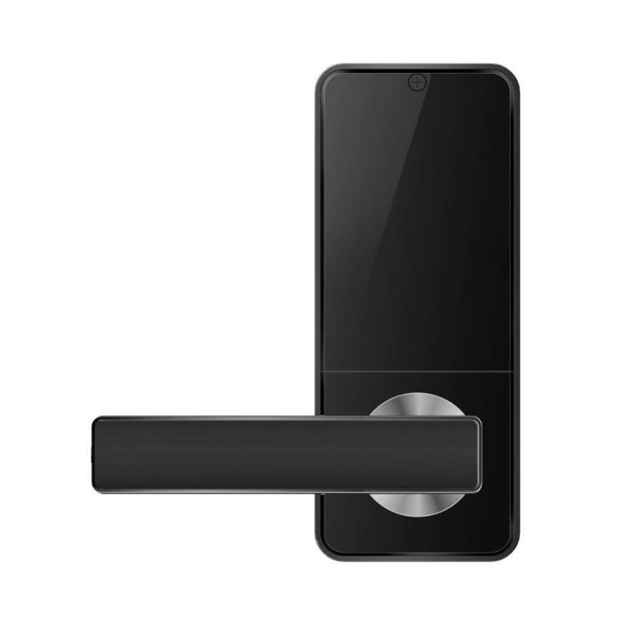 Modern smart door handle D11B with finger scan