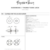 Industrial toilet set Buster & Punch black
