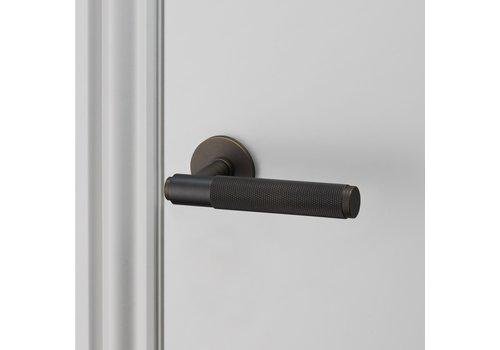 Poignées de porte en bronze fumé / Croix / Buster+Punch