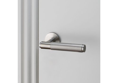 Stainless steel door handles / Cross / Buster+Punch without BB