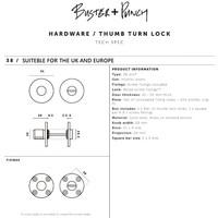 Industrieel WC garnituur Buster & Punch messing
