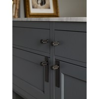 Pair of furniture buttons Buster + Punch black