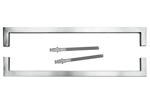 Türgriff Cubica 20/500 Edelstahl Paar für Türstärken> 3 cm