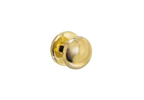 Intersteel Front door knob Mushroom brass unlacquered