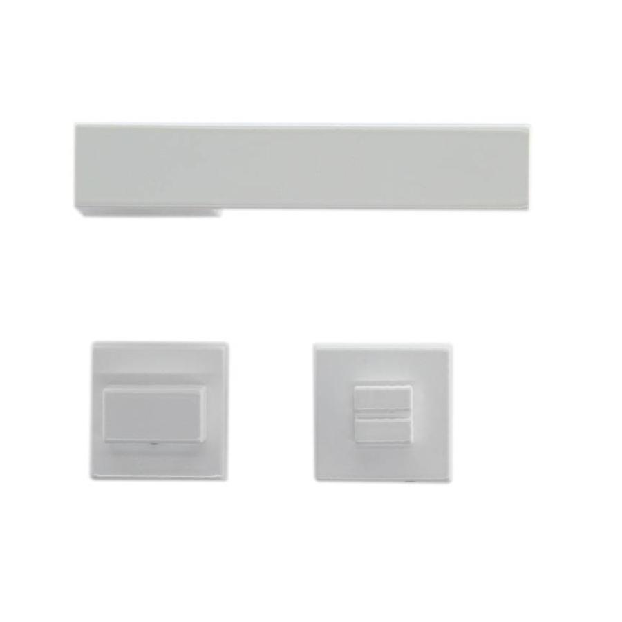 Witte deurklinken X -Treme met WC garnituur