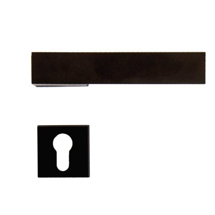Zwarte Deurklinken X-Treme met cilinderplaatjes