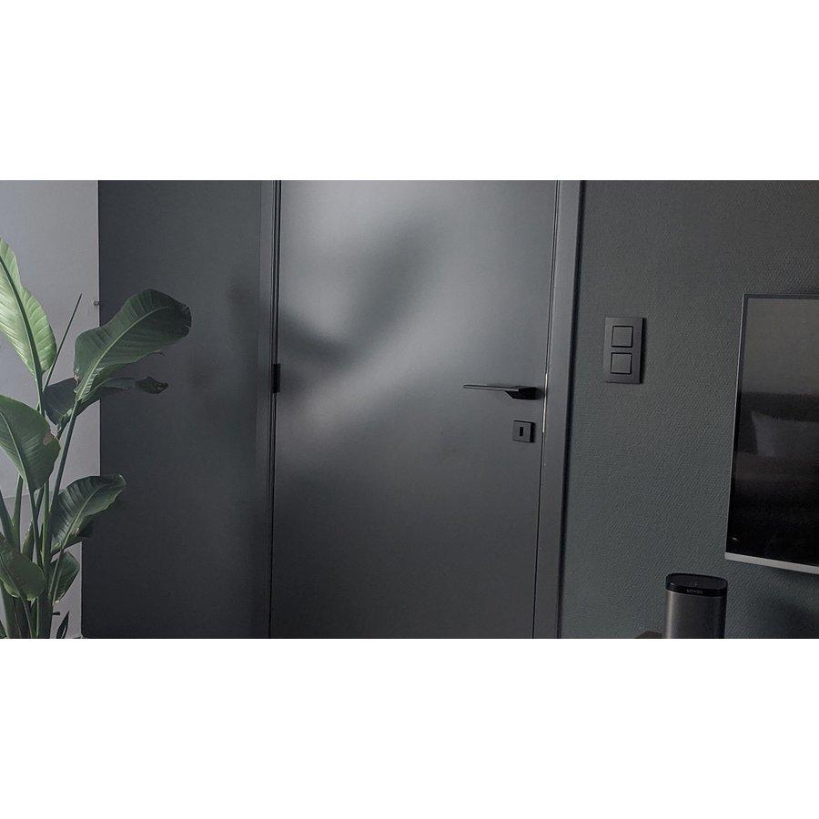 Zwarte deurklinken Seliz  zonder sleutelplaatjes
