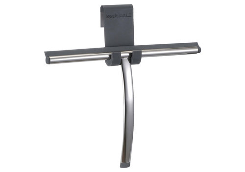 Sealskin Deluxe Squeegee chrome including a flexible glass hook