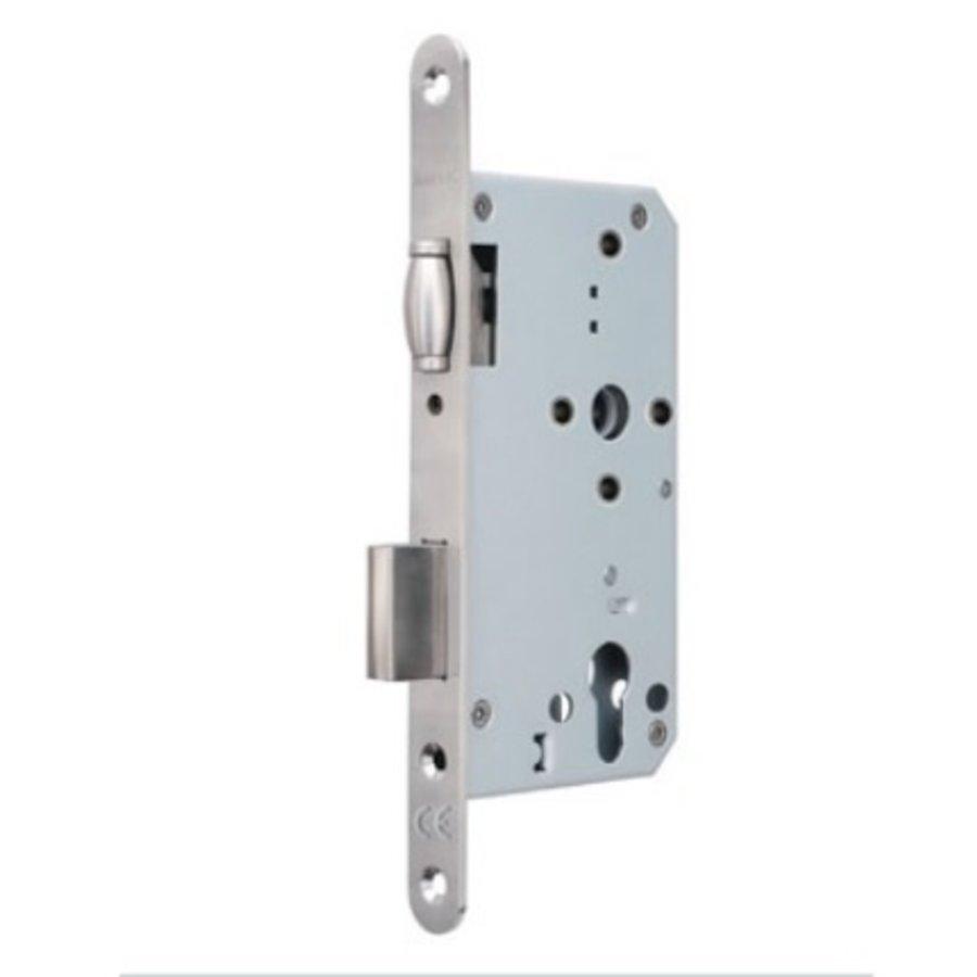 Insteek projectslot RVS Tonrolslot Klasse 3 PC72 mm - doorn 60mm