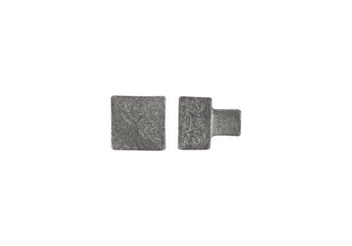 Furniture knob PQ-35 raw metal – 35MM