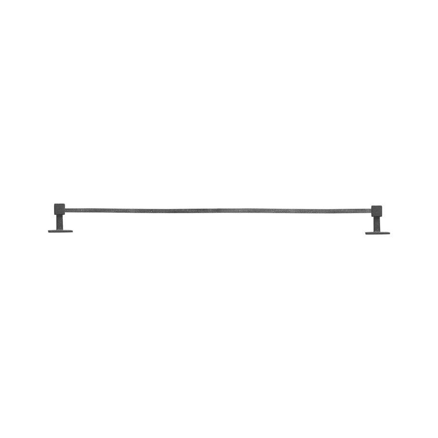 STUK HOUDER 2 EINDSTEUNEN Q RUW METAAL (RM) 1000mm
