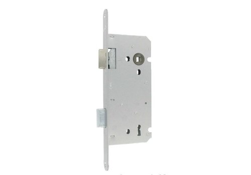 Litto key lock 110/55 stainless steel look with straight front plate