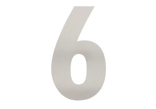 Numéro de maison en acier inoxydable 6 - XXL 500mm