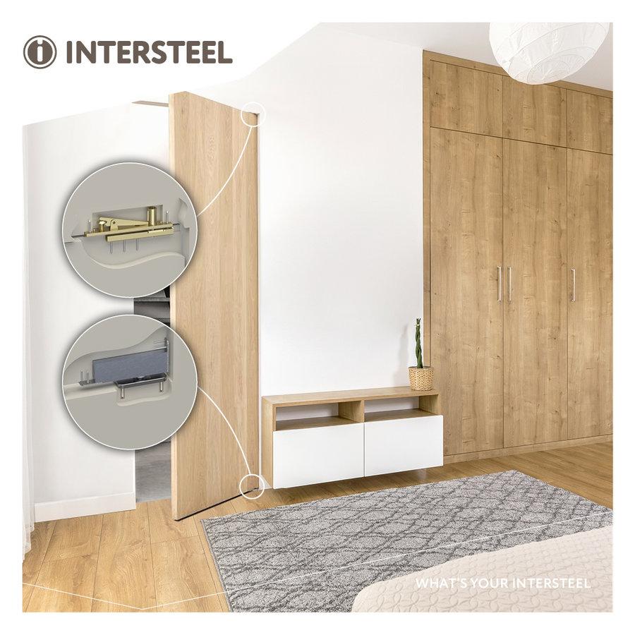 Intersteel Pivot hinge up to 75 kilos black