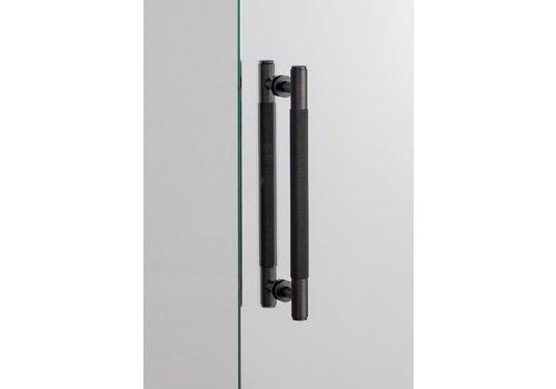 Double door handle from B&P in smoked bronze