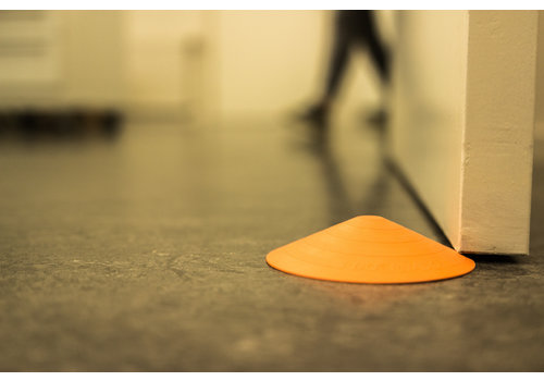 Butoir de porte Doornado Carrot - Orange