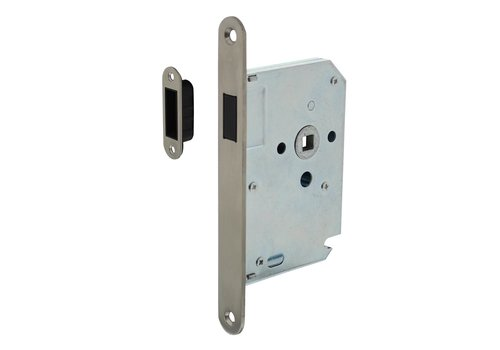 Stainless steel magnetic padlock, front plate stainless steel, 20x175, mandrel 50mm