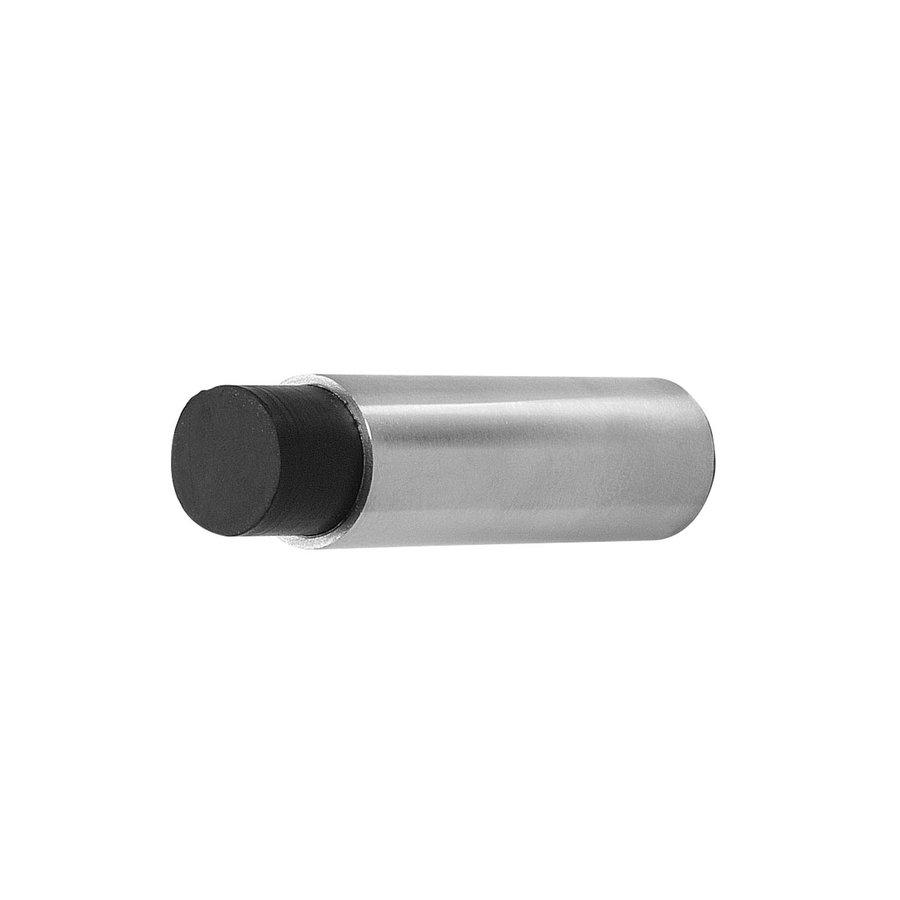 Deurstopper wandmontage 22x80mm RVS geborsteld