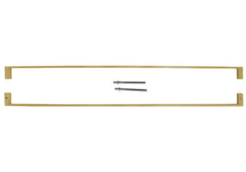 """Door handles """"Cosmic"""" U 20/1000 Matt Copper pair"""